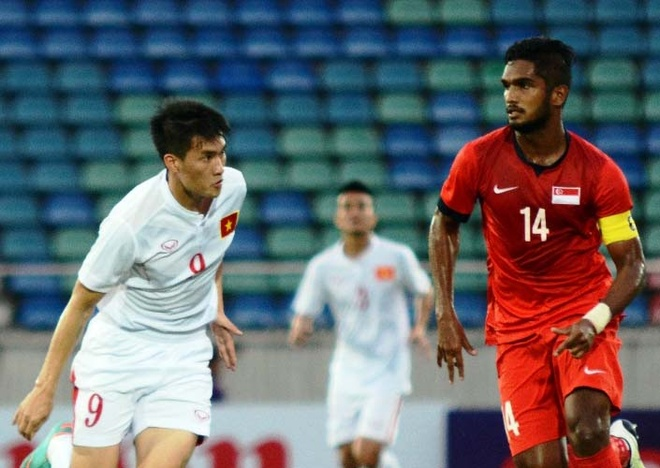 Thang Singapore 3-0, Viet Nam vo dich cup tu hung hinh anh 1