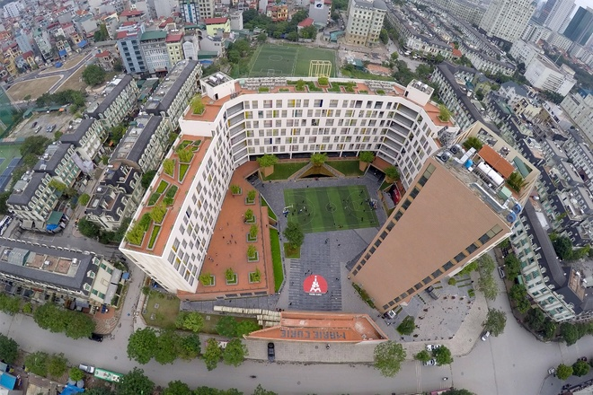 Hanoi's most modern schools viewed from aerial cameras - News ...