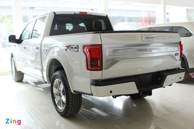 Them cap xe ban tai do so Ford F-150 ve Viet Nam hinh anh 2