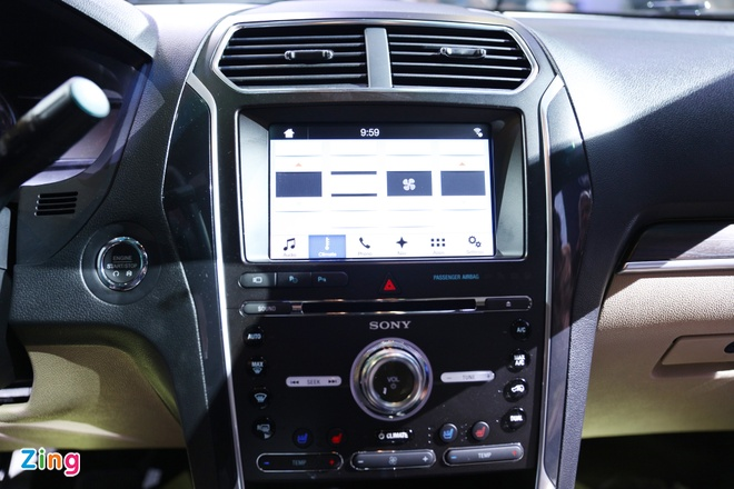Chi tiet Ford Explorer 2017 tai VN: Manh me, dam chat My hinh anh 7