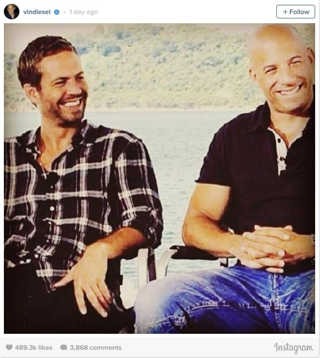 Vin Diesel tuong nho Paul Walker tai phim truong 'Furious 8' hinh anh 1
