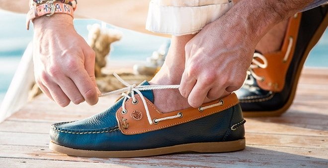 Boat shoes - indispensable piece of paper in the convent by 2016 Photo 3