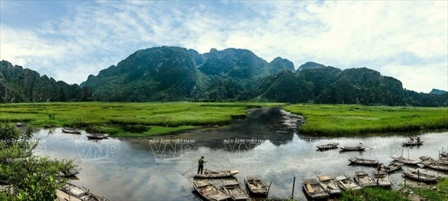 Van Long wetlands in Ninh Binh province
