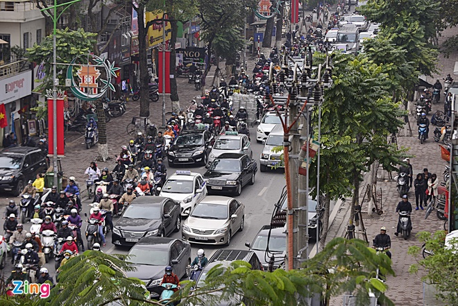 Image: Traffic congestion gets worse in Hanoi before Lunar New Year