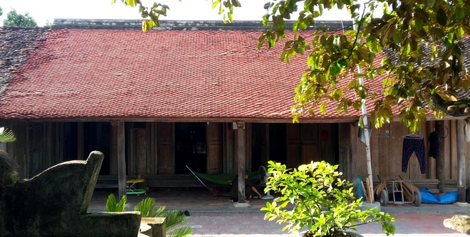 Image: 200-year-old house of three generations in Thanh Hoa