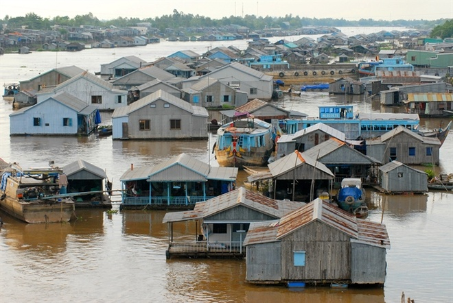 Special houses in southwestern Vietnam
