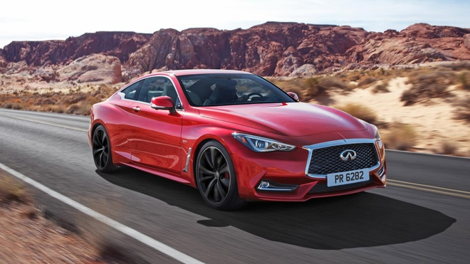 Xe coupe the thao Infiniti Q60 se co mat tai VIMS 2016 hinh anh 1