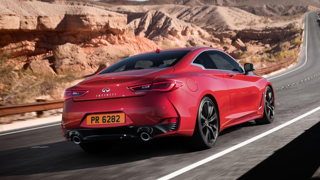 Xe coupe the thao Infiniti Q60 se co mat tai VIMS 2016 hinh anh 2