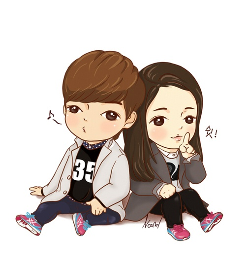Bo suu tap 'The Heirs' phien ban chibi hinh anh 1
