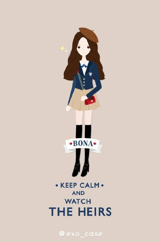 Bo suu tap 'The Heirs' phien ban chibi hinh anh 15