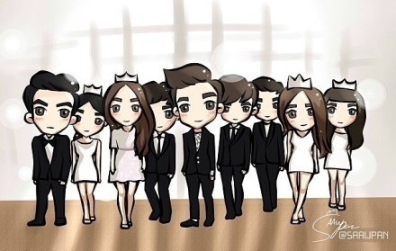 Bo suu tap 'The Heirs' phien ban chibi hinh anh 17