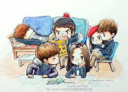 Bo suu tap 'The Heirs' phien ban chibi hinh anh 18