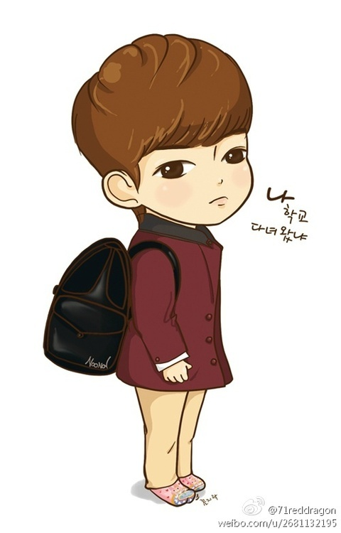 Bo suu tap 'The Heirs' phien ban chibi hinh anh 3