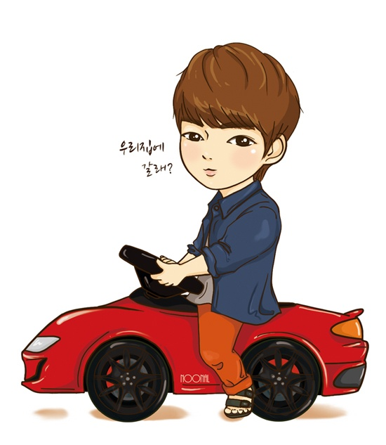 Bo suu tap 'The Heirs' phien ban chibi hinh anh 5