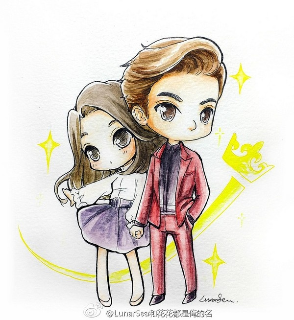 Bo suu tap 'The Heirs' phien ban chibi hinh anh 7
