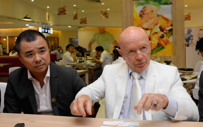 Mark Mobius - Chủ tịch quỹ Franklin Templeton Investments.