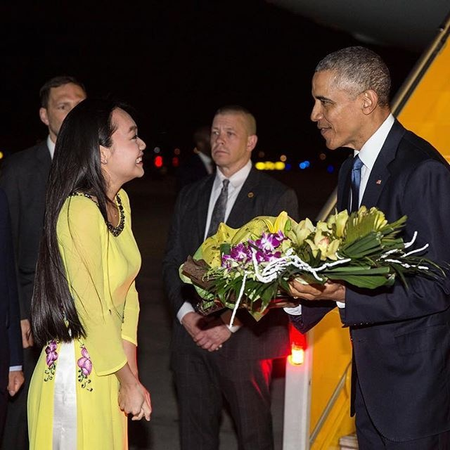 Top shared photos, videos about Obama's visit to Vietnam