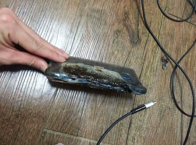 Galaxy Note 7 bi nghi no do sac dom o Trung Quoc hinh anh 2