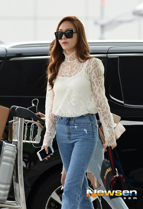 Jessica Jung noi tieng Viet chao fan hinh anh 1