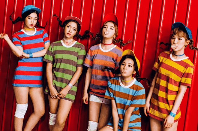 Nhom nu moi YG muon dung do Red Velvet? hinh anh 2