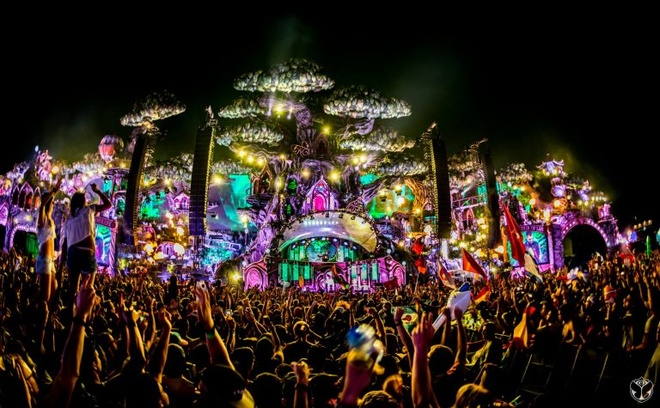 Dam chim cung nhac dien tu trong aftermovie ve Tomorrowland hinh anh 1