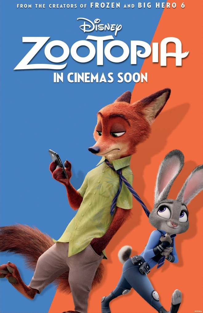 'Zootopia' la phim an khach nhat quy dau nam 2016 hinh anh 1