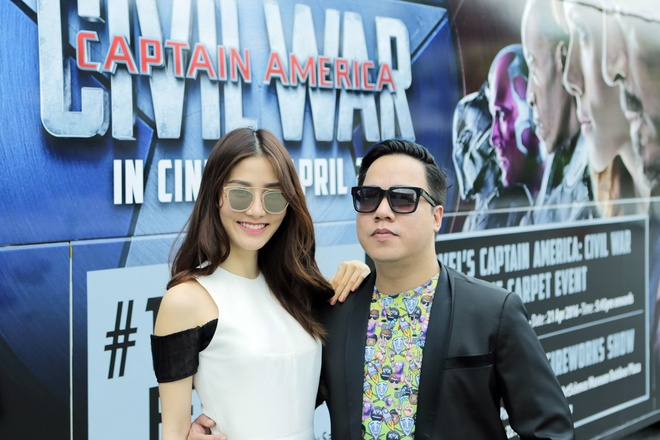 Nguoi dan Singapore cuong nhiet chao don 'Captain America 3' hinh anh 12