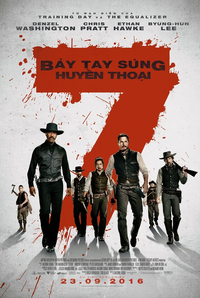 Bảy Tay Súng Huyền Thoại - The Magnificent Seven (2016)