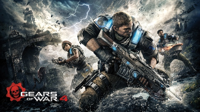 Loat tro choi dinh dam 'Gears of War' len phim hinh anh 2