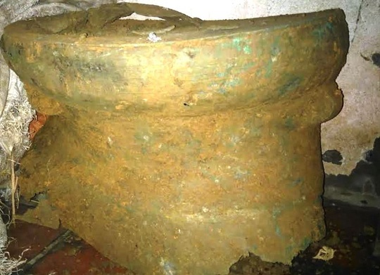 Building a house, Vietnamese farmer unearths 2,000-year-old bronze drum