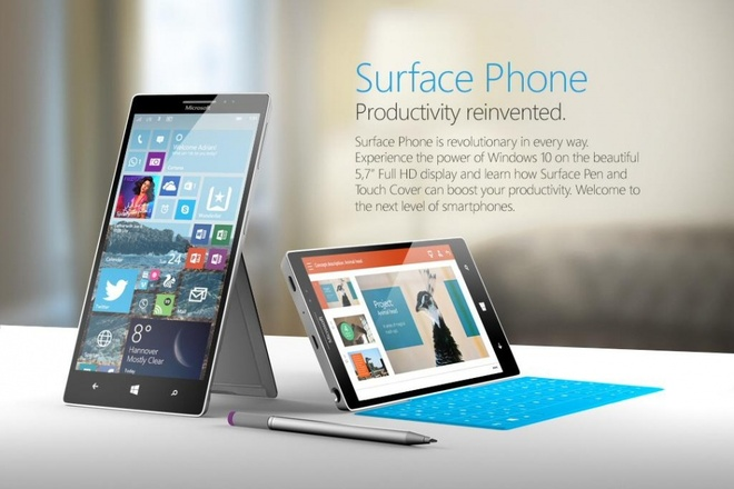 Surface Phone co the dung chip Snapdragon 830, RAM 8 GB hinh anh 1