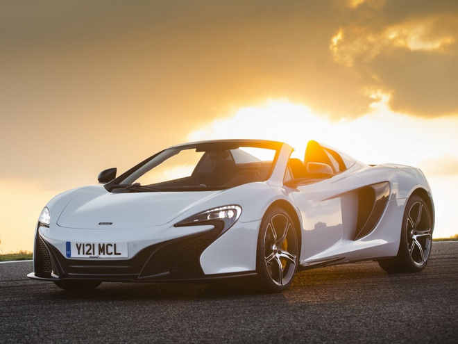 McLarens latest creation, the sportier version of the 12C is a great British super car with a twin turbo V8 pumping out 641 bhp. As one of the cheaper cars on this list, with a list price of £215,000, it is great value for what you get and with P1 styling it definitely is a looker.