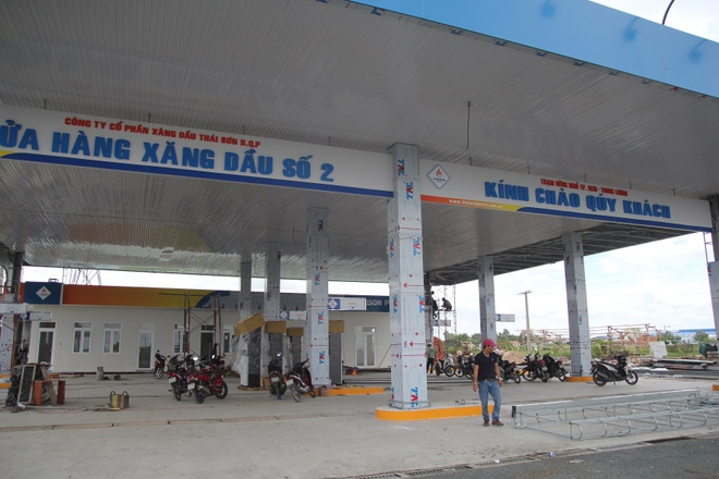 Xay tram dung nghi tren cao toc TP.HCM - Trung Luong hinh anh 1